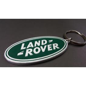 Chaveiro Land Rover Green Oval Em Aluminio - Varios Modelos!