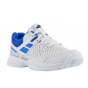 Tenis Babolat Pulsion All Court Jr Blanco /azul