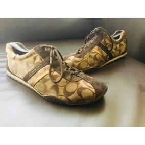 Zapatos Tenis Coach Mujer!!! Nogucci No Michael Kors No Tous