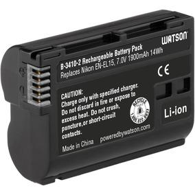 Watson En-el15 Bateria Para Camara Fotografica Nikon