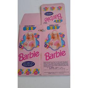 Caixa De Chicletes Vazia Buzzy Barbie 1996 Ótimo Estado