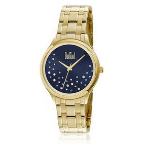 Relógio Feminino Dumont Analógico Du2036lst 4a Dourado d1095a29d2