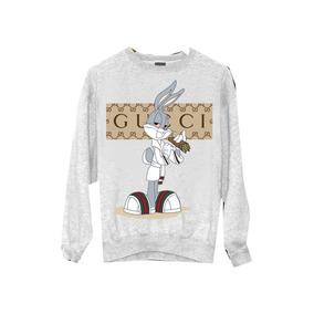 Blusa Moleton Gucci - Camisetas e Blusas no Mercado Livre Brasil f3fc79824c2