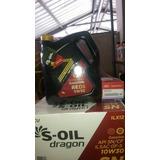 Aceite S-oil Sintético 5w30 + Filtro Kia, Hyundai Y Otros