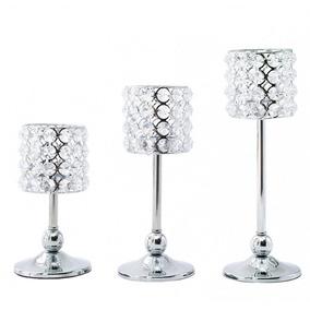 S+m+l - Cristal Votivo Astilla Tealight Candelabros Cen-5789