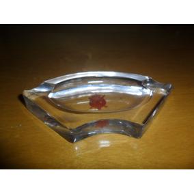 Cenicero De Cristal Antiguo. Microcentro-avellaneda.