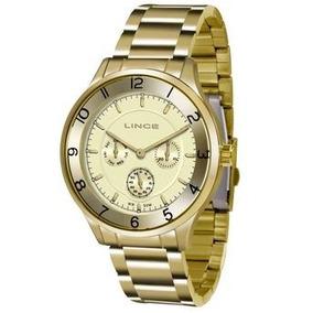 Relógio Lince Lmg4377l + Garantia De 1 Ano + Nf