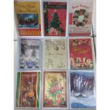 Cartão De Natal Com Mensagens Modelo Padrão Com 27 Unidades