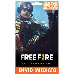Free Fire 4.450 Diamantes +445 Bônus (4895) Recarga P/ Conta