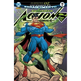 Hq Superman Action Comics Nº 18 Ed Set/2018 - Efeito Oz