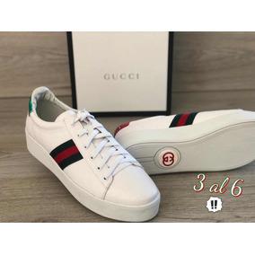 Tenis Gucci Clasico Dama Originales - Ropa 5881c299527