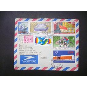 Alemanha D D R 1976 Carta Circ. Para Blumenau - L - 3563