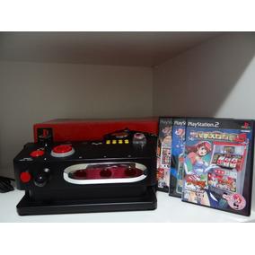 Controle Ps2 Hori Pachislot Controller + 3 Games Originais