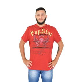 Camiseta Básica Com Estampa Balada Masculina 1016