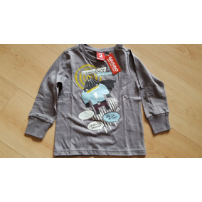Remeras Manga Larga Camisetas Grisino Varios Motivos Talles. Buenos Aires · Remera  Grisino Niño Talle 2 e2317bdfdfb86