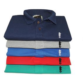 Kit C  7 Camisa Gola Polo Masculina Camiseta Atacado Revenda c7e466ddebee8