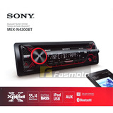 Auto Estereo Sony Mex-n4200bt Bluetooth Nfc Aux Usb Iphone