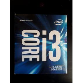 Pack Intel I3 6100