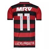 Camisa adidas Flamengo I 2018 11 Lucas Paquetá 2018 Promoção
