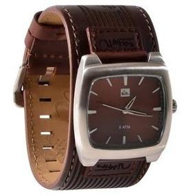 90e2a4e62d211 Pulseira Quiksilver Foxhound Couro - Joias e Relógios no Mercado ...