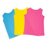 Set Camisetas 3 Piezas Bebe Niña Multicolor