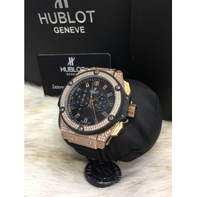 706e36438bc Relógio Eta Hublot King Power Gold Arturo Fuente - Relógios no ...