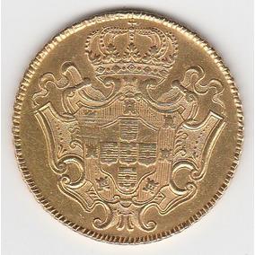 12800 Reis De Ouro De 1729m Soberbo-26,8 Gramas