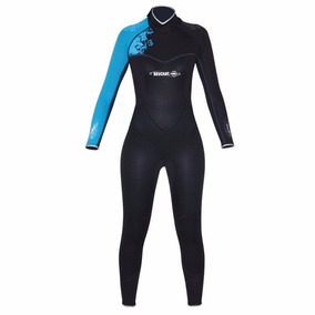 Traje Neopreno Alize Overall Mujer Beuchat 3mm Buceo 0dc1a015ae1