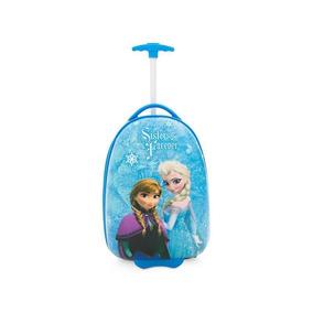 Maleta Viaje Para Niña Disney Frozen Resistente Original16 P