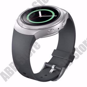 39861b48927 Pulseira Relógio Samsung Gear S2 Sm-r720 Silicone Preto