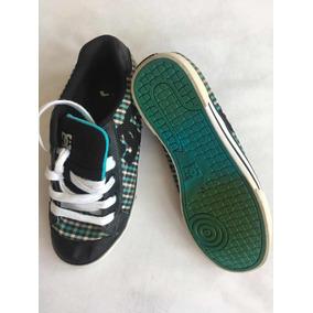 6770b2fa Dc Shoes Tenis Unisex Color Verde Con Negro 26.5 Mex