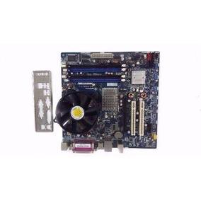 Kit Placa Mãe 775 + Processador Core2duo E8400 3,0ghz + 2gb