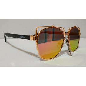 5e5ba77c0449d Oculos Feminino Espelhado - Óculos De Sol Triton Sem lente ...