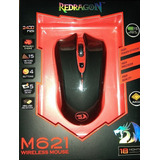 Mouse Gamer Inalámbrico Reddragon M621