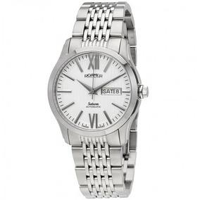 c8bd8d94dc7 Relógio Suíço Saturn Roamer Automático Prata branco aço. R  4.299