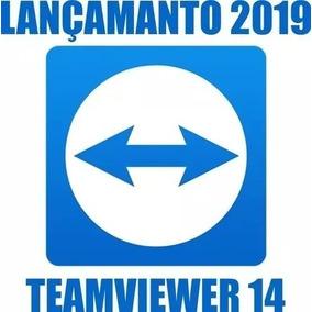 Teamviewer - Software De Acesso Remoto - Versão 14 Vitalício