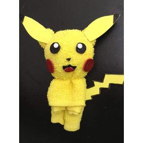Toalla Facial En Forma De Pikachu Para Fiestas Infantiles