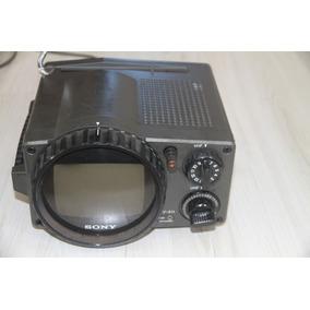 Tv Antiga Sony Mod Tv-511 Camping Anos 70 Vintage Raridade