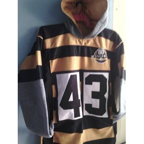 336681cf15485 Sudaderas Tipo Jersey Steelers en Mercado Libre México