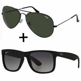 Oculos Ray Ban Aviador Quadrado - Óculos no Mercado Livre Brasil 31b017afc4