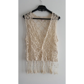 Chaleco Tejido A Crochet - Ropa y Accesorios en Mercado Libre Colombia 1318e5ef57ac