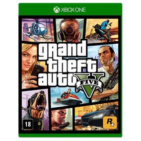 Jogo Gta V Xbox One - Gta 5 - Mídia Física