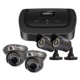 Cctv Kit De Vigilancia Ahd 4 Cámaras (2 Domo) Pc Box 1000 Gb