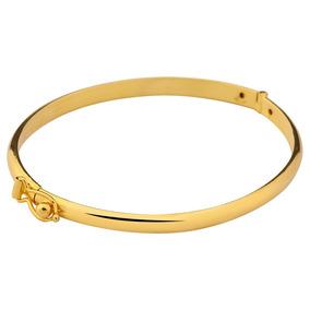 Trava De Segurança Ouro 750 Rose Leilã Pulseira Bracelete C - Joias ... fd5c46cc50