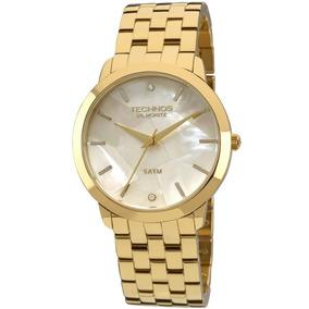 b200f354fc7 Relogio Technos 6p29gv 4b Feminino Dourado Masculino - Relógios De ...