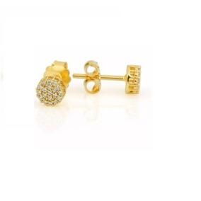 6b4d127ea0680 Brinco Vivara Com 26 Diamantes Naturais Ouro 18k 750 - Joias e ...
