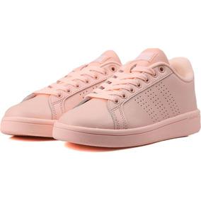 Tenis adidas Cloudfoam Advantage Rosa - Aw3977 - Mujer