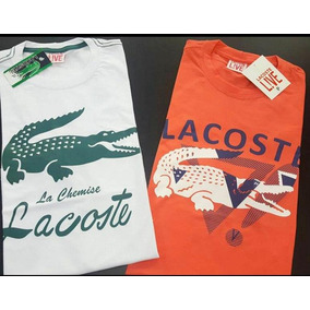 14624dc7113a1 Camiseta De Primeira Linha Lacoste Peça Única - Camisetas no Mercado ...