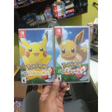 Pokemon Letsgo Nuevo Sellado Solo 1 A Escoger