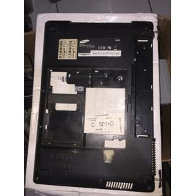 Carcaça Traseira Notebook Samsung Np430 - C/ Dobradiças